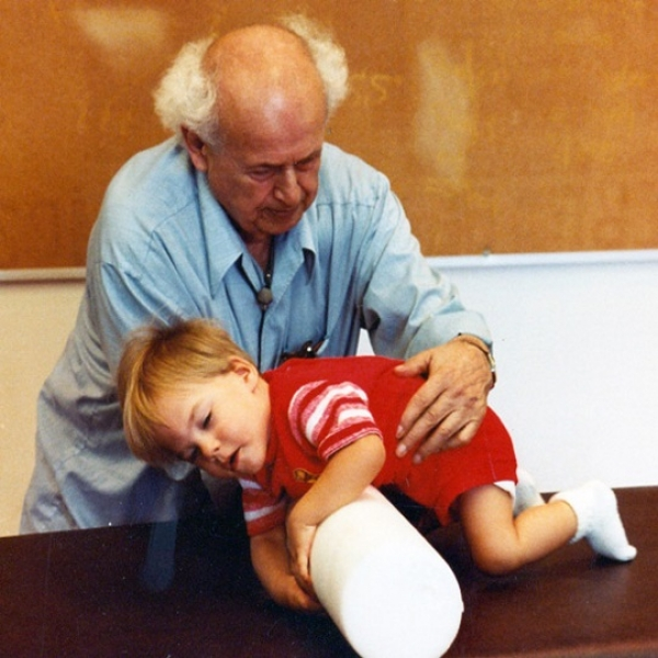 MOSHE Feldenkrais working with child