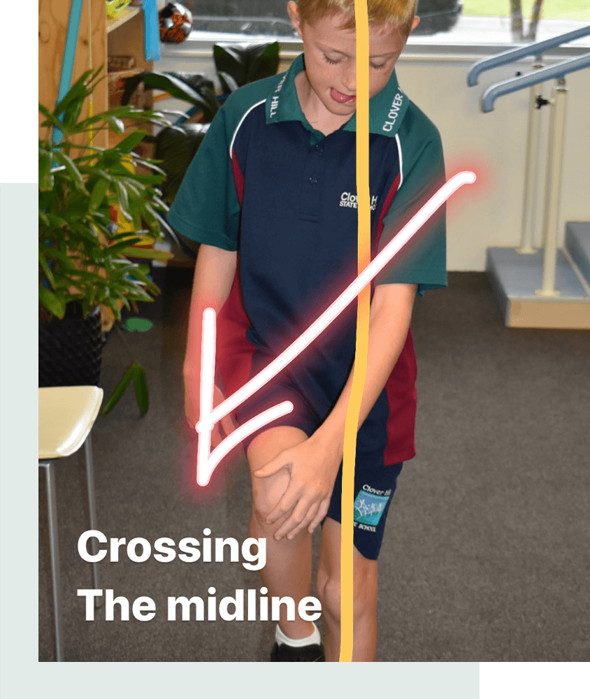What is 'midline' and why is 'crossing the midline' important for your child's brain development?